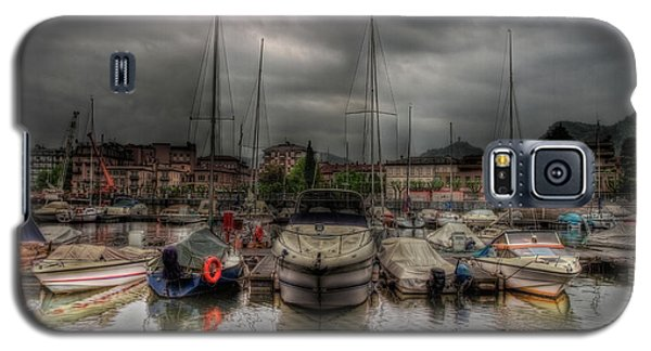 Port At Como Lake Galaxy S5 Case