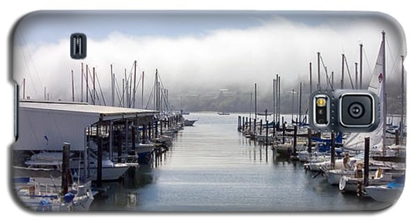 Galaxy S5 Case featuring the photograph Port Kingston Marina by Greg Reed