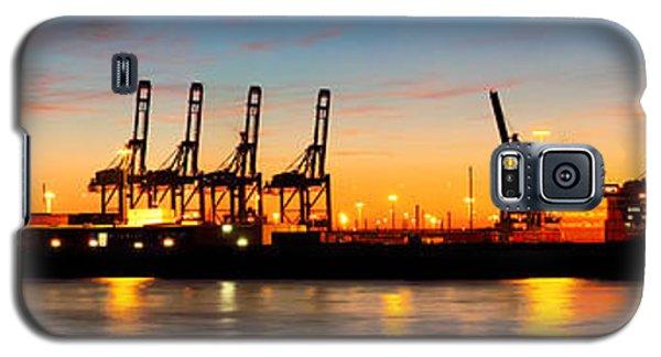 Port Of Hamburg Panorama Galaxy S5 Case