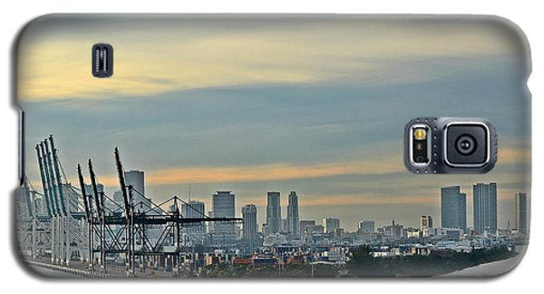 Port Of Miami Galaxy S5 Case by Gary Smith
