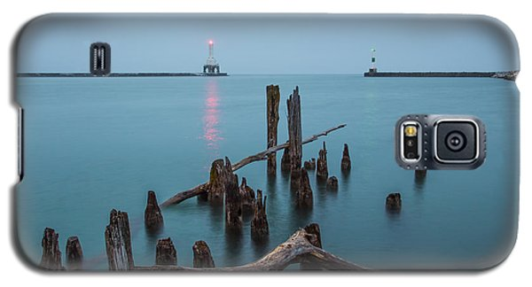 Port Washington Harbor Galaxy S5 Case