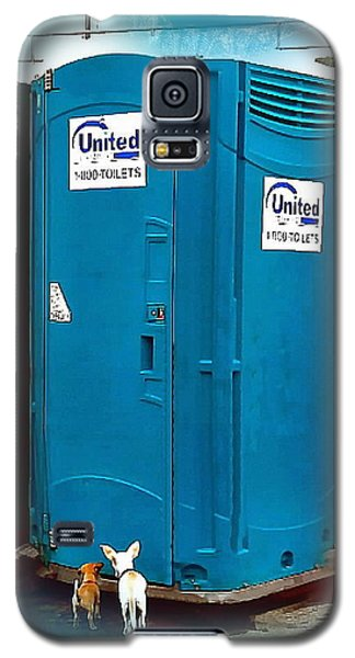 Porta Puppy Potty... Galaxy S5 Case by Sadie Reneau