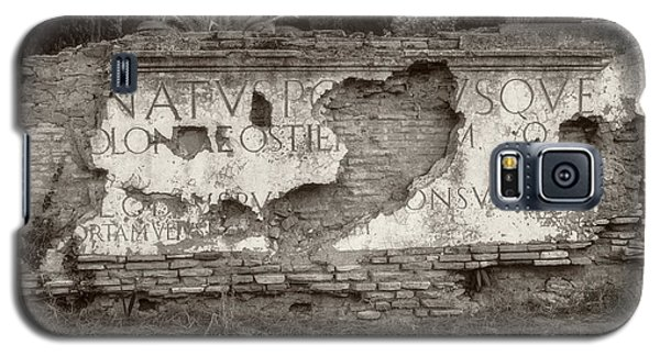 Porta Romana In Sepia Galaxy S5 Case