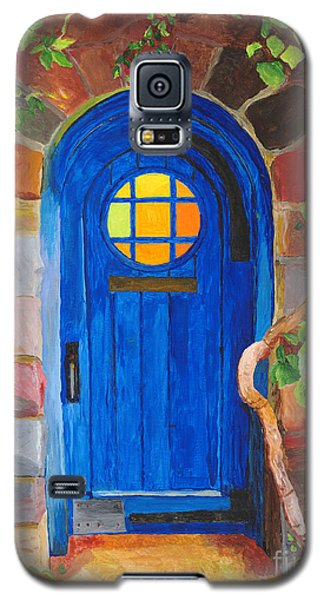 Galaxy S5 Case featuring the painting Portal by Rodney Campbell