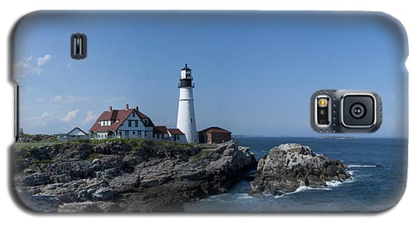 Portland Head Light House Galaxy S5 Case by Daniel Hebard