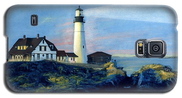 Portland Head Light Night Beacon Galaxy S5 Case