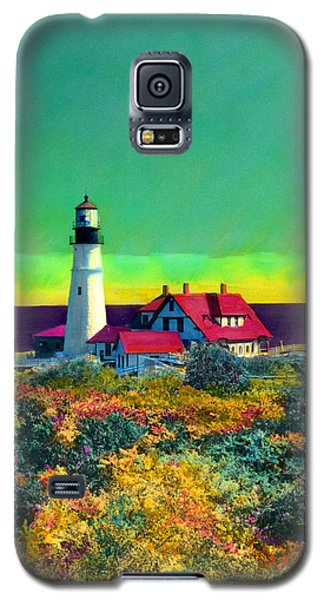 Portland Head Light V Galaxy S5 Case