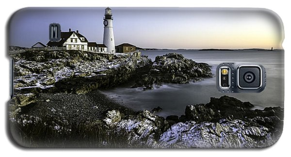 Portland Head Lighthouse At Dawn Galaxy S5 Case by Betty Denise