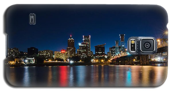 Portland Oregon Nightscape Galaxy S5 Case
