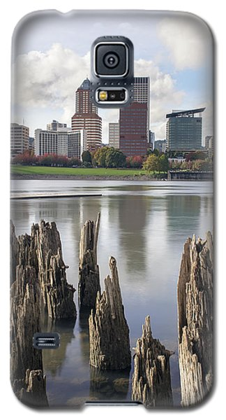 Portland Oregon Waterfront Galaxy S5 Case by JPLDesigns