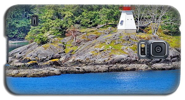 Portlock Point Lighthouse In British Columbia Galaxy S5 Case