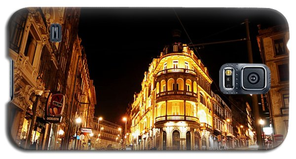 Porto Portugal At Night 1 Am Galaxy S5 Case