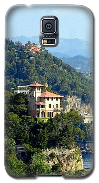 Portofino Coastline Galaxy S5 Case by Carla Parris