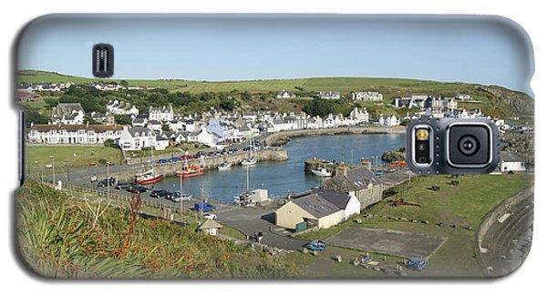 Portpatrick Harbour Galaxy S5 Case