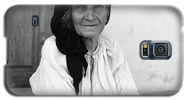 Portrait In Vrancea Romania Galaxy S5 Case