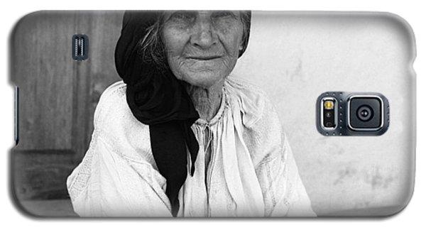 Portrait In Vrancea Romania Galaxy S5 Case by Emanuel Tanjala