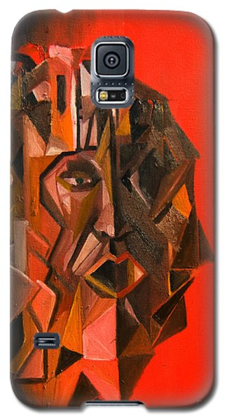 Portrait Mask Galaxy S5 Case