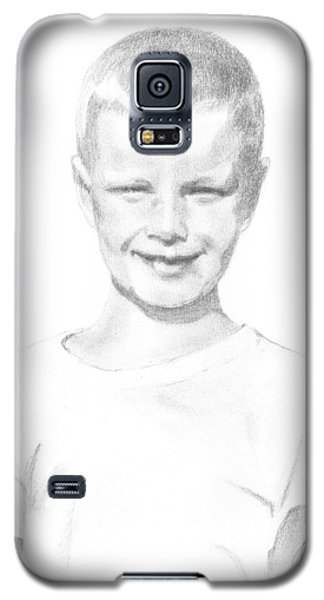 Portrait Of A Boy Galaxy S5 Case