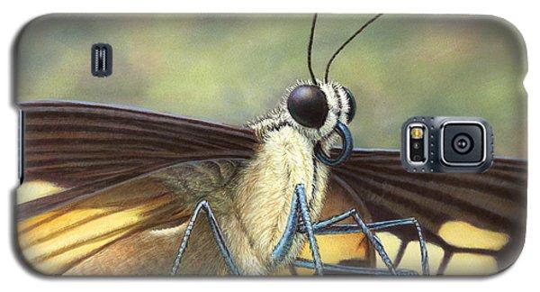 Aliens Galaxy S5 Case - Portrait Of A Butterfly by James W Johnson