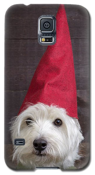 Elf Galaxy S5 Case - Portrait Of A Garden Gnome by Edward Fielding