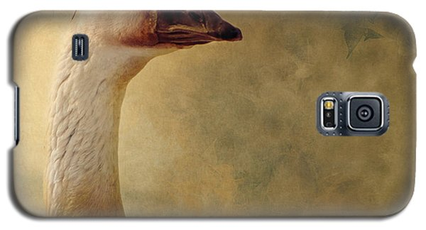 Portrait Of A Goose Galaxy S5 Case