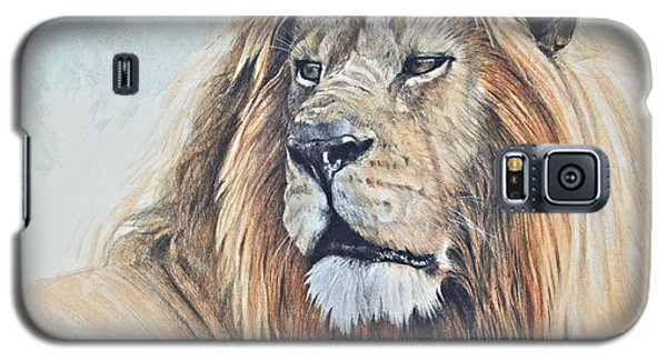 Galaxy S5 Case featuring the digital art Portrait Of A King by Aaron Blaise