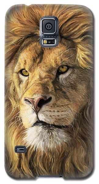 Portrait Of A Lion Galaxy S5 Case