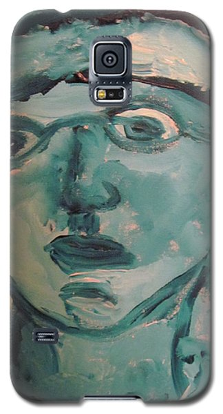 Portrait Of A Man Galaxy S5 Case by Shea Holliman