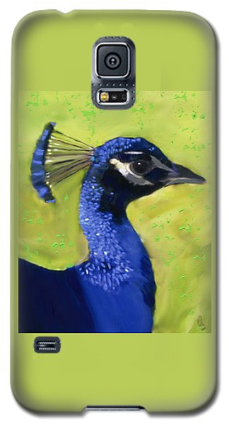 Portrait Of A Peacock Galaxy S5 Case