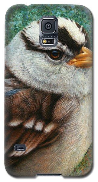 Portrait Of A Sparrow Galaxy S5 Case