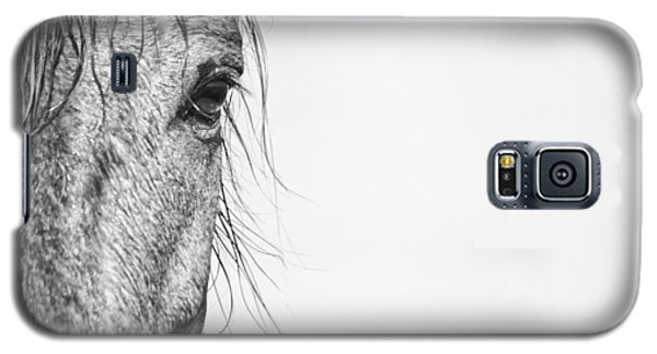 Portrait Of A Wild Mustang Galaxy S5 Case