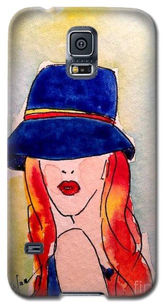 Portrait Of A Woman Galaxy S5 Case