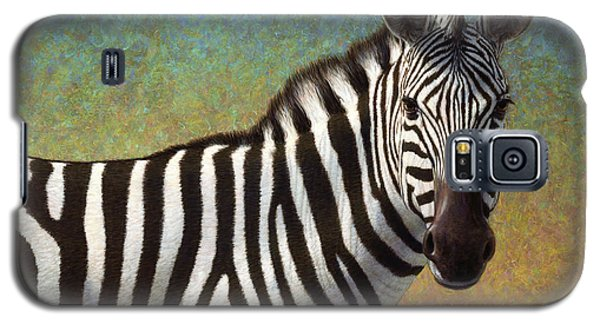 Portrait Of A Zebra Galaxy S5 Case