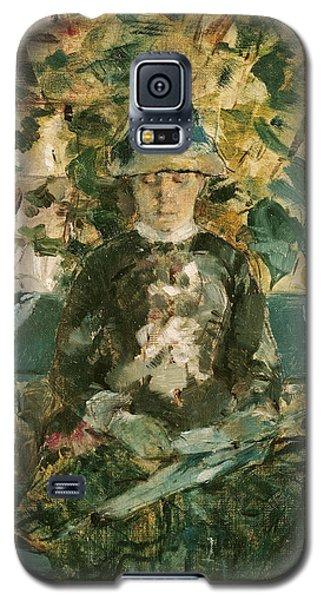 Adele Galaxy S5 Case - Portrait Of Adele Tapie De Celeyran by Henri de Toulouse-Lautrec