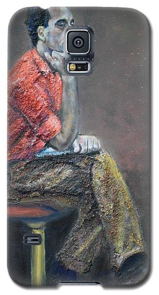 Portrait Of Ali Akrei - The Painter Galaxy S5 Case