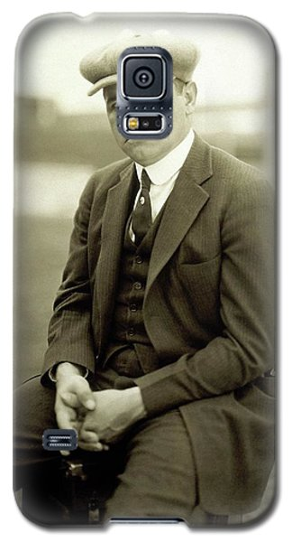 Portrait Of Babe Ruth Galaxy S5 Case by Arnold Genthe