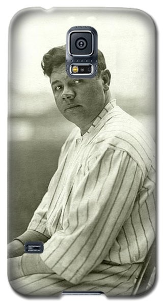 Portrait Of Babe Ruth Galaxy S5 Case by Nicholas Muray
