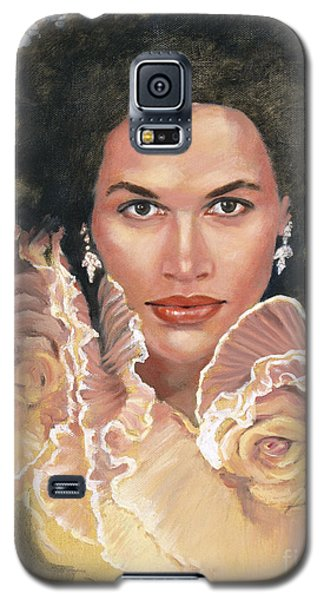 Portrait Of Chae  Galaxy S5 Case
