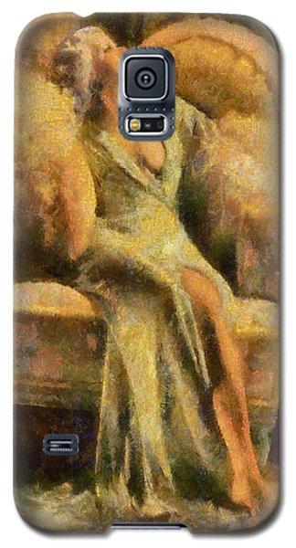Portrait Of Jean Harlow Galaxy S5 Case