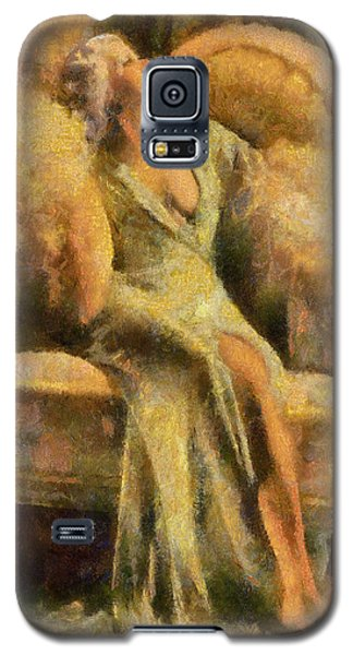 Portrait Of Jean Harlow Galaxy S5 Case