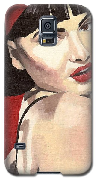 Portrait Of Jenny Bauer Galaxy S5 Case