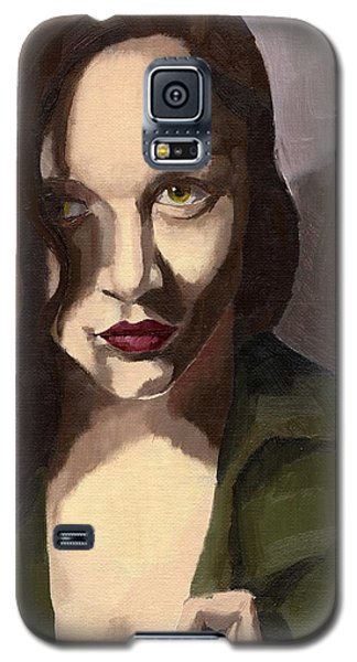 Portrait Of Katelind Galaxy S5 Case