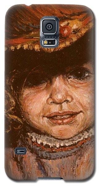 Portrait Of Leticia Galaxy S5 Case