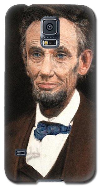 Portrait Of Lincoln Galaxy S5 Case