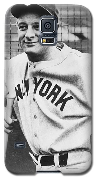 Portrait Of Lou Gehrig Galaxy S5 Case