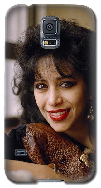 Portrait Of Ofra Haza Galaxy S5 Case