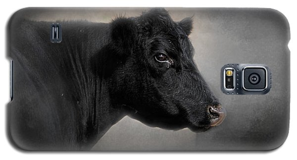 Portrait Of The Black Angus Galaxy S5 Case