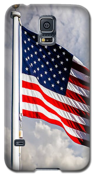 Portrait Of The United States Of America Flag Galaxy S5 Case
