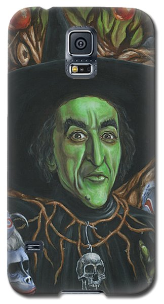 Portrait Of Wickedness Galaxy S5 Case