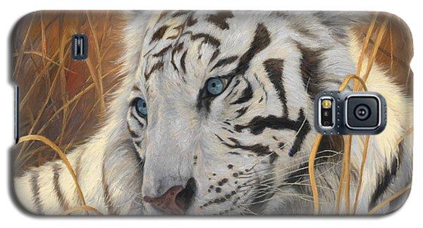 Portrait White Tiger 1 Galaxy S5 Case